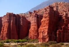 Reuzen van Quebrada DE Cafayate royalty-vrije stock foto's