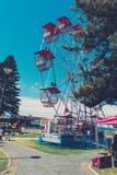 Reuzenrad bij een Markt Royalty-vrije Stock Foto's