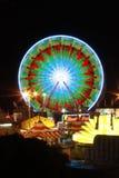 Reuzenrad bij nacht Stock Fotografie