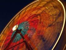 Reuzenrad bij nacht Stock Afbeelding