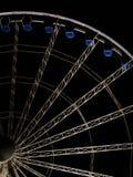 Reuzenrad bij nacht in Gdansk, Polen Stock Fotografie
