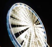 Reuzenrad bij nacht in Gdansk, Polen Royalty-vrije Stock Fotografie