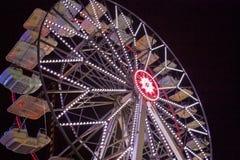 Reuzenrad bij night Royalty-vrije Stock Afbeeldingen