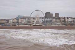 Reuzenrad in Brighton Stock Afbeeldingen