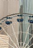 Reuzenrad in de stad Royalty-vrije Stock Afbeelding
