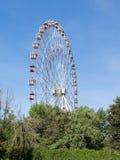 Reuzenrad die in het park lopen Royalty-vrije Stock Afbeeldingen