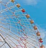 Reuzenrad in Moskou Stock Foto's