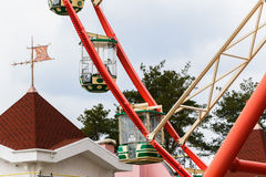 Reuzenrad in park Stock Afbeeldingen