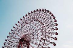 Reuzenrad tegen hemel Stock Foto