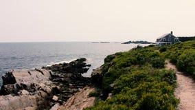 Reuzetreden in Harpswell Maine stock video