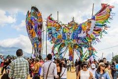 Reuzevliegerfestival, de Dag van Alle Heiligen, Guatemala Stock Foto's