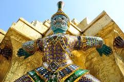 Reuzewat pra kaeo temple, Thailand Royalty-vrije Stock Afbeelding