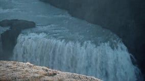 Reuzewaterval, IJsland stock video