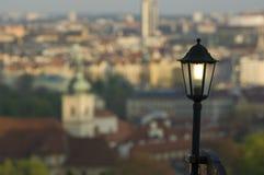 Revérbero de Praga Fotos de Stock Royalty Free