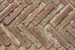 Revêtement de la chaussée médiéval Image libre de droits