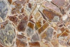 Revêtement de mur fait en pierre Photographie stock libre de droits