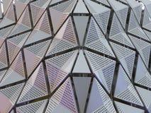 Revêtement en métal sur le bâtiment photographie stock libre de droits
