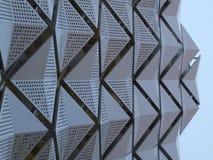 Revêtement en métal sur le bâtiment photo stock