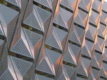 Revêtement géométrique en métal photos libres de droits