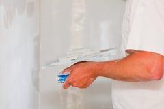 Revêtement professionnel de lait écrémé photographie stock