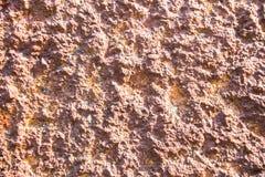 Revêtement texturisé durable rugueux de mur de stuc Fond inégal abstrait image libre de droits