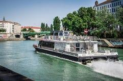 Revêtement Vienne de ville jumelle images libres de droits