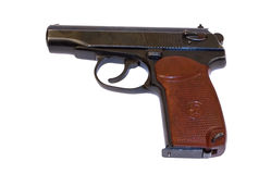 revólver de 9mm Imagens de Stock Royalty Free