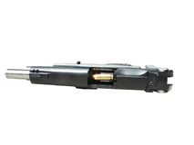 revólver de 9MM com trajeto Fotografia de Stock Royalty Free