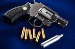 Revólver del arma del BB Fotografía de archivo
