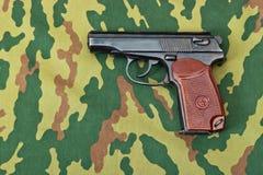 Revólver do exército Imagem de Stock