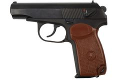 Revólver do soviete 9mm imagens de stock