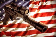 Controlo de armas Imagens de Stock Royalty Free