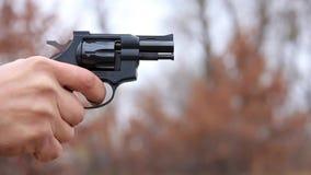 Revólver negro metrajes