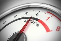 Rev counter, gauge Stock Images