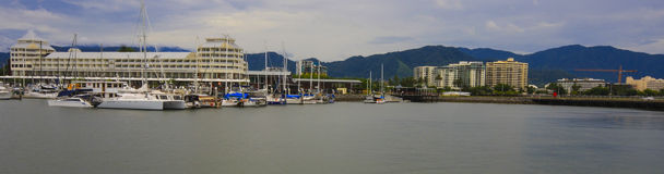Rev Marina Panorama royaltyfria foton