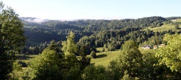 Revard góry w Savoy i krajobraz, Francja Obrazy Royalty Free