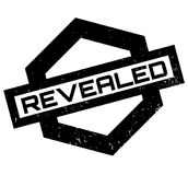Revealed rubber stamp Stock Photography