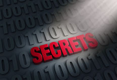 Revealing Computer Secrets Stock Photography