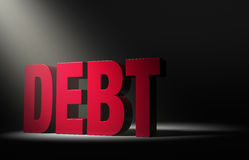 Revealing Hidden Debt Stock Photography