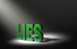 Revealing Lies Stock Photography