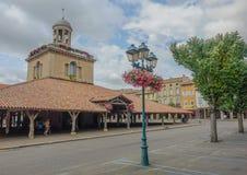Revel village main square Stock Photo