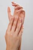 Revel in uw huid Stock Foto's