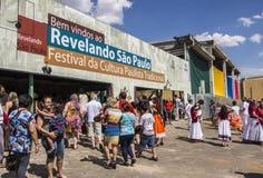 Revelando São Paulo - Sao Paulo's state Traditional Culture Festival. 'Revelando São Paulo' - Sao Paulo's state Traditional Culture Festival - Parque do stock images