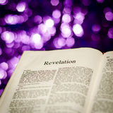 Revelation page Stock Images