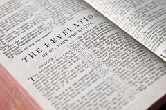 Revelation text background Royalty Free Stock Photos