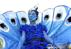 Reveler at Caracol royalty free stock images