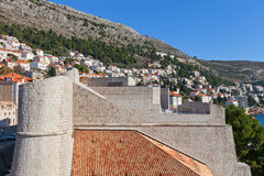Revelin Fortress (1549) in Dubrovnik, Croatia. UNESCO site Stock Photos