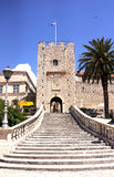 Revelin Tower in Korcula royalty free stock photography