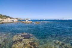 Revellata peninsula Corsica Stock Photos
