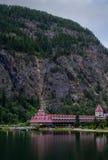 Revelstoke, Canada 2 luglio 2016 Castello di Gap di tre valli immagini stock